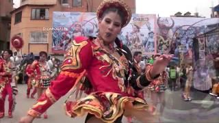Chicas bailando caporales 3 (Asi de Ron - Dejame vivir en paz)