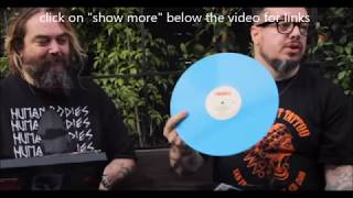 Max + Iggor Cavalera unbock Sepultura LP set - Warbringer interview + live video