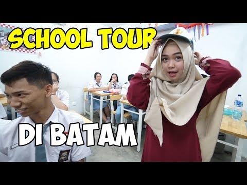 Download Video KELILING SEKOLAH LAMA RICIS!! Kenangan SMA😭 (part2)