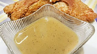KFC STYLE GRAVY! SUPER EASY!!! (Kuya Fern's Cooking)