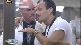 Big Brother Vip - Moisés aconselha Edmundo Vieira para avançar
