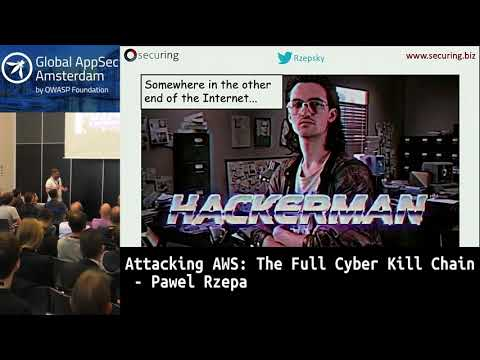 Attacking AWS: The Full Cyber Kill Chain - Pawel Rzepa