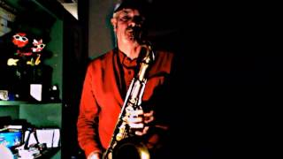 Boogie Blues on Tenor sax