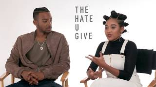 Amandla Stenberg And Algee Smith Discuss Tupac's Legacy