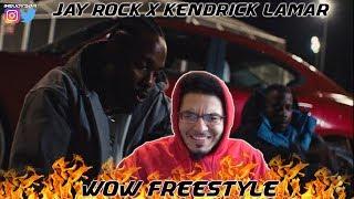 Jay Rock - Wow Freestyle ft. Kendrick Lamar | REACTION