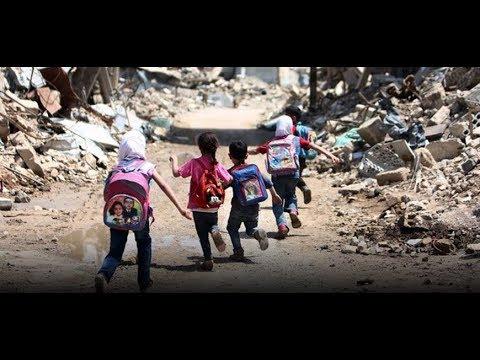 هيومن رايتس ووتش تتحدث عن تهميش النظام وروسيا لأطفال الغوطة الشرقية