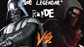 Darth Vader vs. Kylo Ren | Duelos Legendarios Rap de la Historia | ft. Anthrax Gamer