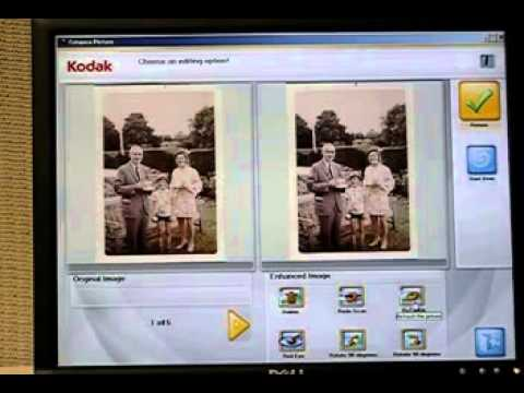 Kodak Picture Saver System Image Re touch