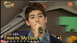 24K cover 'My Love' by West life