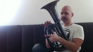 Roland Szentpali plays Bydlo on Bass Saxhorn