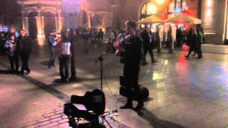 Fun - We are young - Cover by Jacek Wolny - Krakow Main Market Square 2015