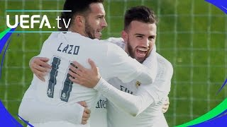 Real Madrid 2-0 Benfica: UEFA Youth League highlights