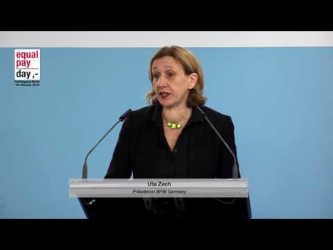 Uta Zech, Präsidentin des BPW Germany e.V.  | 19.10.2016 im BMFSFJ, Berlin