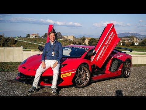 HOT-LAP in the Lamborghini Aventador SVJ! w/OPPO FindX [Sub ENG]