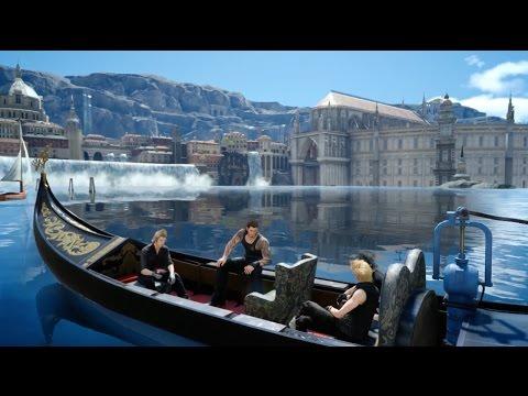 Final Fantasy XV: A Beautiful Gondola Ride Through Altissia