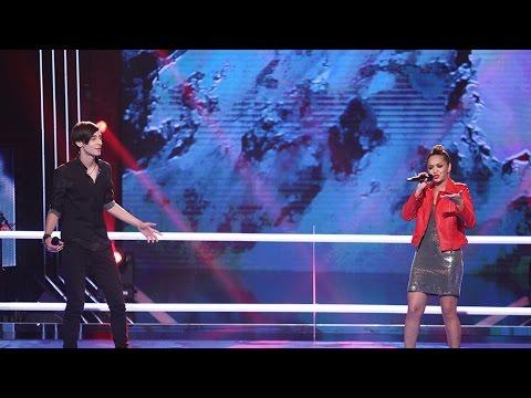 Francesca Ilie & Serban Gabriel Radu - Bridge Over Troubled Water | Vocea Romaniei