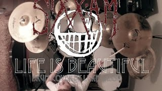 SIXX A.M.: Life Is Beautiful (DRUM COVER)