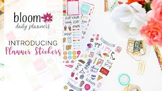 Introducing bloom daily planner PLANNER STICKER SHEETS!