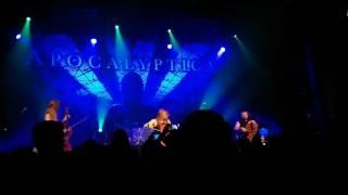 Apocalyptica - The Unforgiven, Quebec City, June 9, 2015