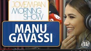 "Manu Gavassi canta hit ""Camiseta"" ao vivo no MS | Morning Show"