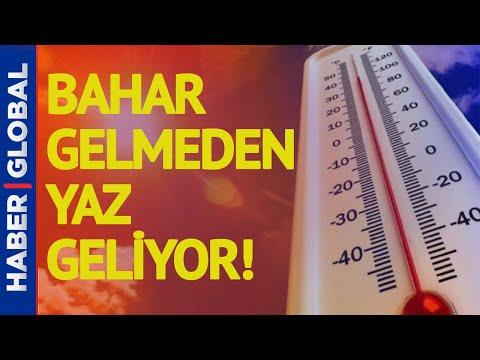 Bahar Gelmeden Yaz Geliyor, Sıcaklık Artıyor! Bünyamin Sürmeli Son Durumu Anlattı