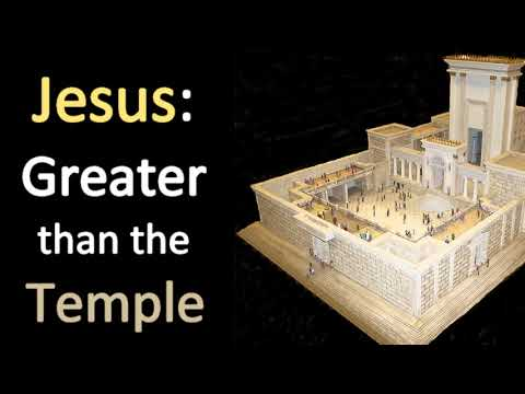 One Greater than the Temple - Charles Spurgeon Sermon