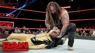 Goldust vs. Bray Wyatt: Raw, Sept. 11, 2017