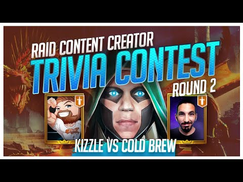 RAID | Trivia Contest | R2 | ColdBrew vs Kizzle!
