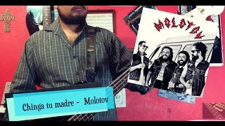 Molotov - Chinga tu madre (Bass Cover)