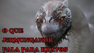GOD OF WAR 4 - O que Jörmungandr Disse Para Kratos e Atreus ?