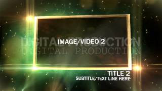 After Effect Template GREEN LIGHT