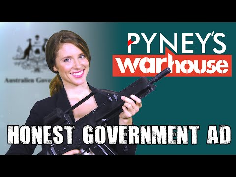 Aussie Arms Industry | Honest Government Ad