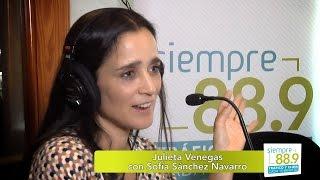Julieta Venegas en entrevista con Sofía Sánchez Navarro para Siempre 88.9