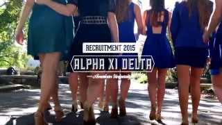 Alpha Xi Delta Iota Phi Chapter: Fall 2014