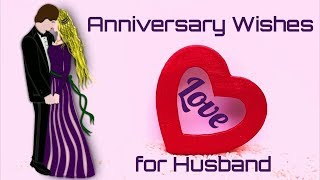 Anniversary Wishes for Husband ( Happy Anniversary Video) - Anniversary Status