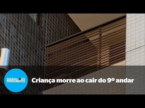 Criança cai do 9º andar de edifício no bairro de São José