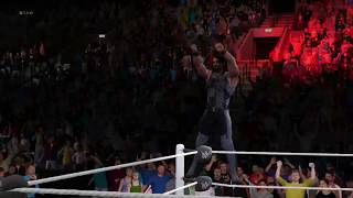 """WWE 2K17 - Seth Rollins Entrance With Unused Theme Song """"Redesign Rebuild Reclaim"""" By Downstait"""