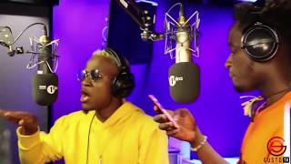 Mr. Eazi x Dotman Freestyle on BBC Radio 1Xtra