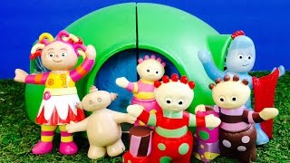 IN THE NIGHT GARDEN Toys Visit Tubbytronic Superdome Teletubbies Home!