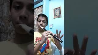 Happy Birthday tune on flute