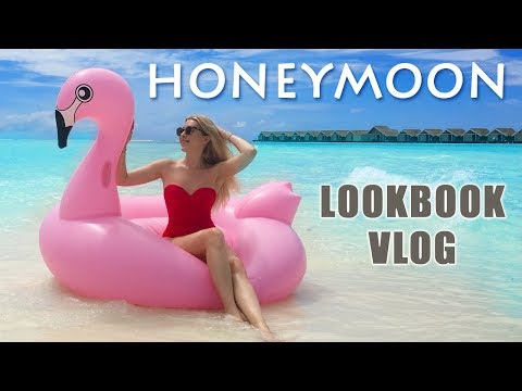 HONEYMOON lookbook and VLOG in Maldives