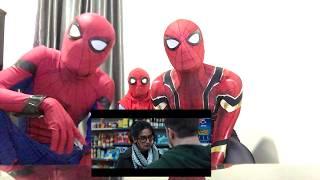 VENOM Trailer REACTION by MCU Spiderman