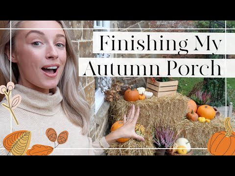 AUTUMN PORCH, LOTS OF GARDEN UPDATES + WEEKEND VLOG // Fashion Mumblr