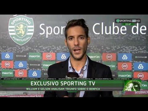 Declarações de William Carvalho e Gelson Martins após triunfo sobre o SLB - Sporting TV (22/11/2015)