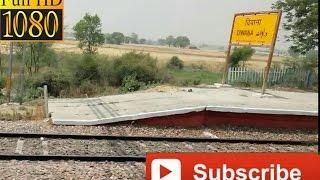 Diwana Railway station !!दिवाना onboard Kerala Sampark kranti