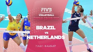 Brazil v Netherlands highlights - FIVB World Grand Prix