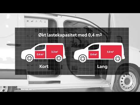 Toyota Proace City - Smarte lasteløsninger