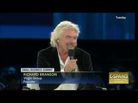 Richard Branson - The Future of Space Travel