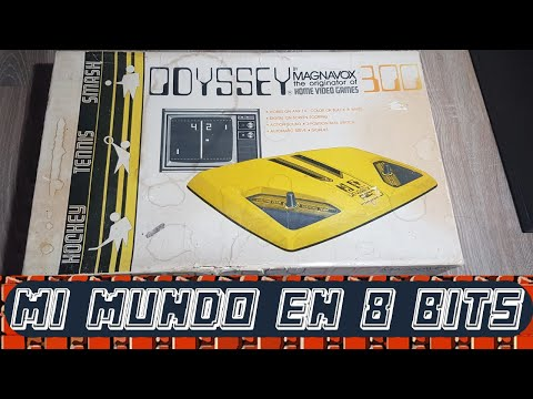 MAGNAVOX ODYSSEY 300 - Unboxing y Review - ESPAÑOL
