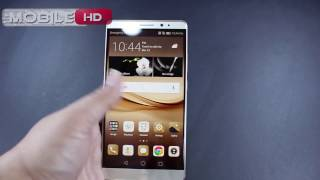فتح علبة هواوي ميت 8 ذهبي  Unboxing Huawei Mate 8 Gold